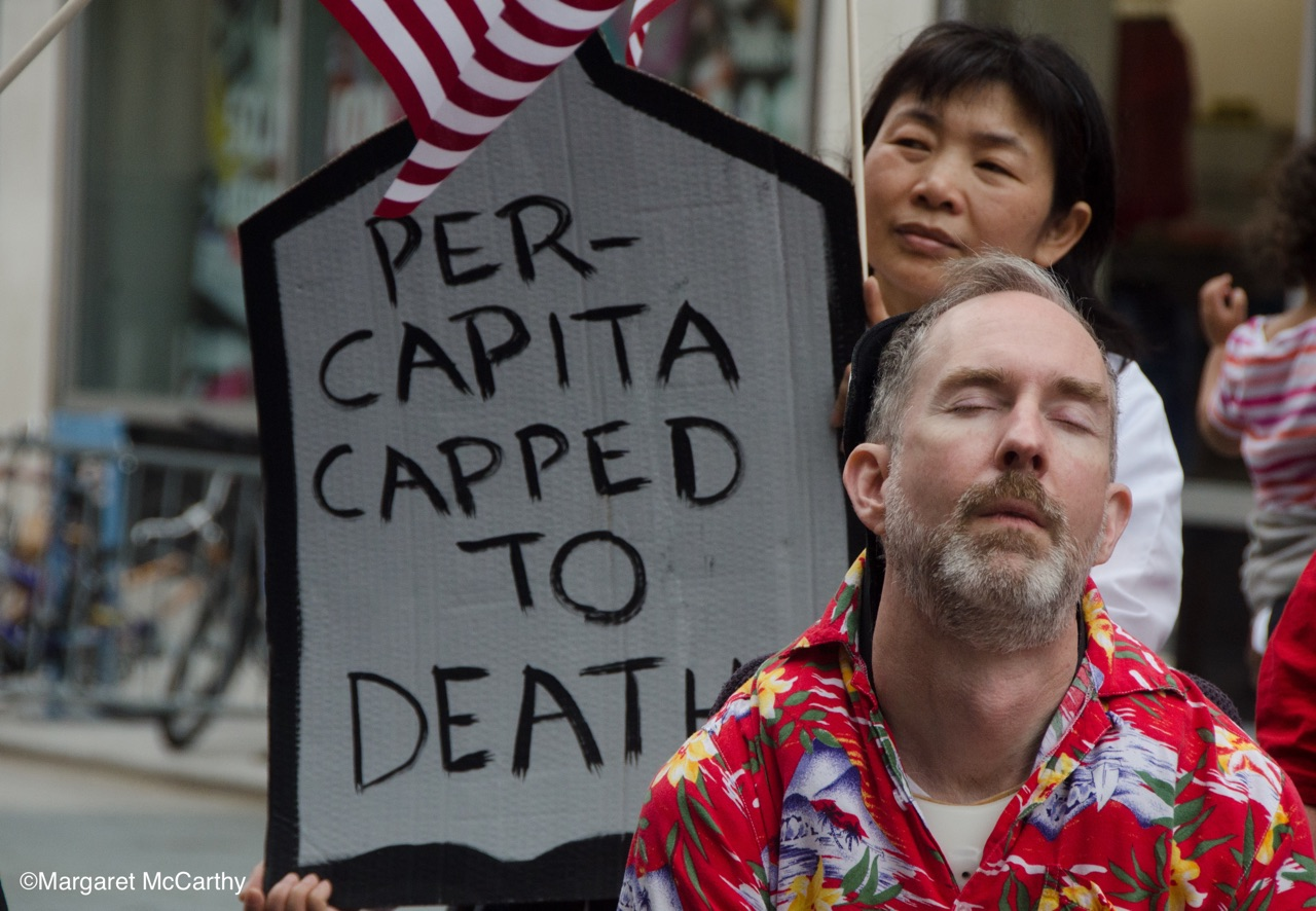 NYC Die-In for Health Care June 4, 2017