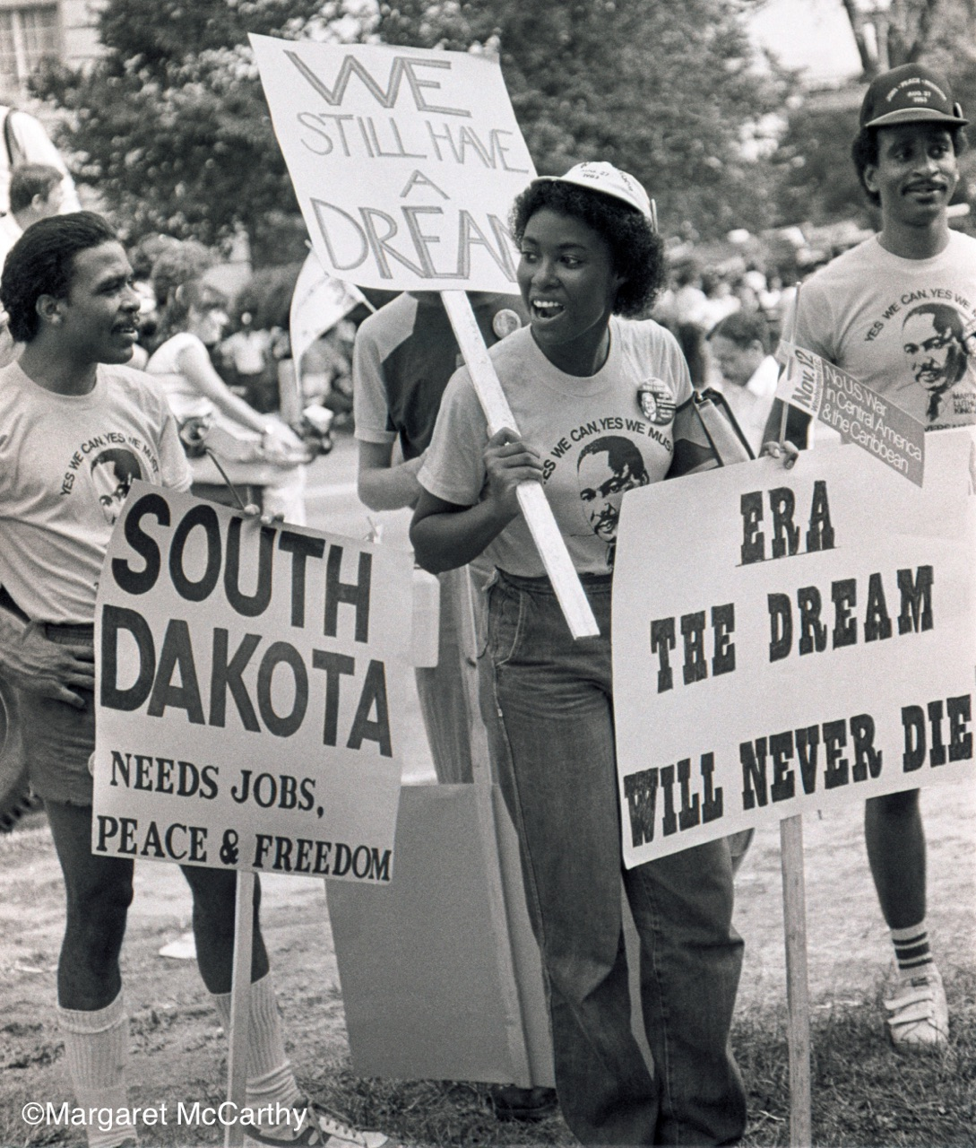 ERA: WE STILL HAVE A DREAM - March for Jobs, Peace, Justice; Washington, D.C. 1983