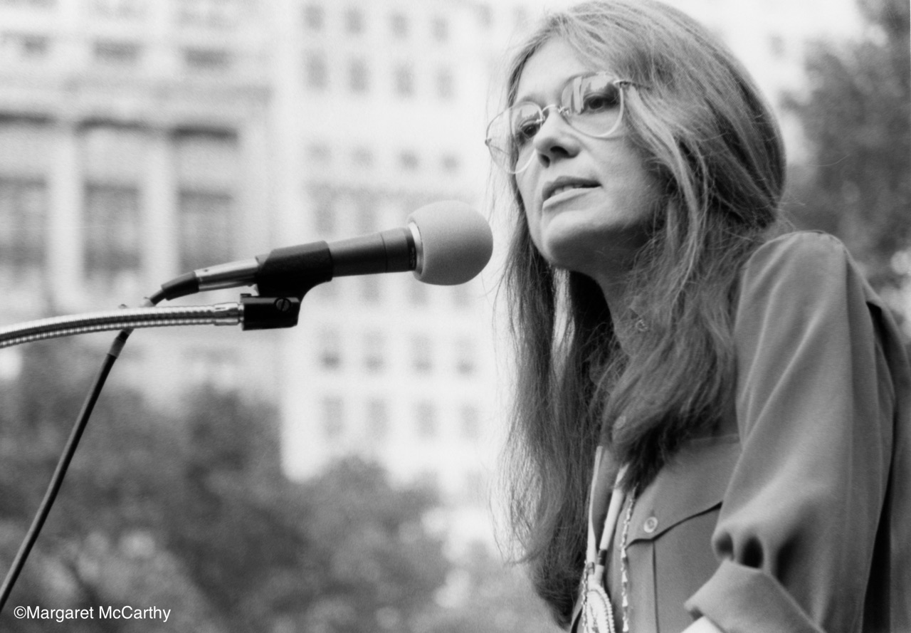 Gloria Steinem, New York City, 1979