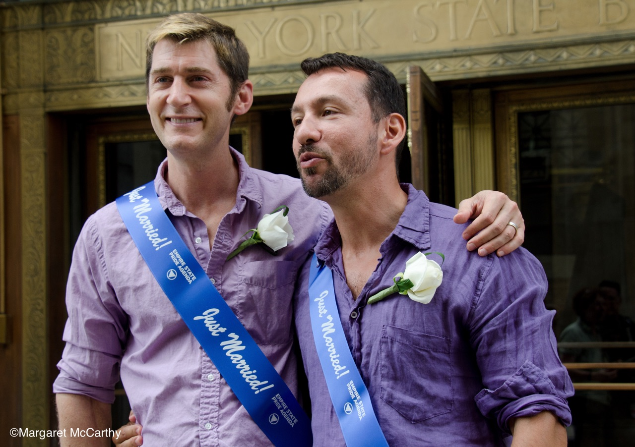 First Day  Legal Same Sex Marriages are performed in Manhattan,NY 07/24/2011