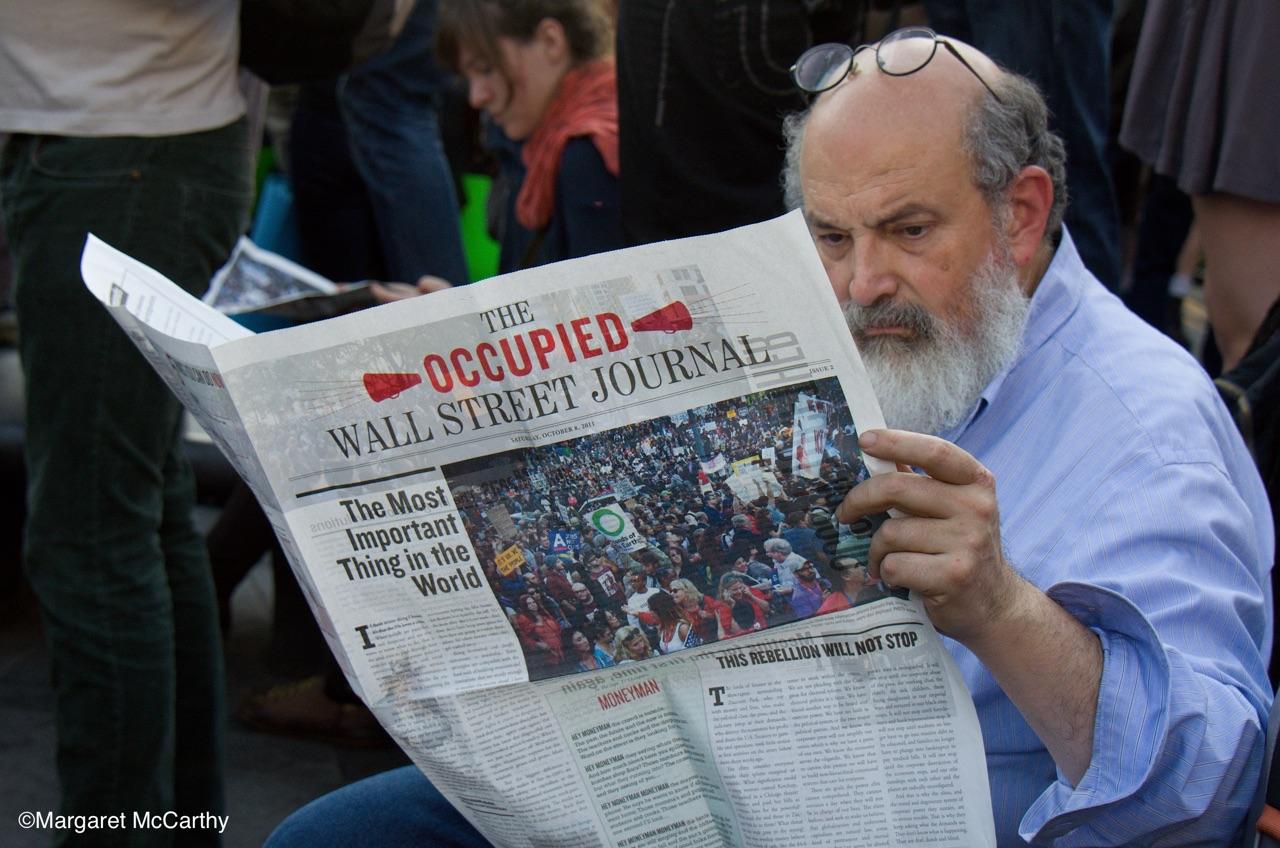 Occupy Wall Street, Washington Square Park, NYC 10-08-2011