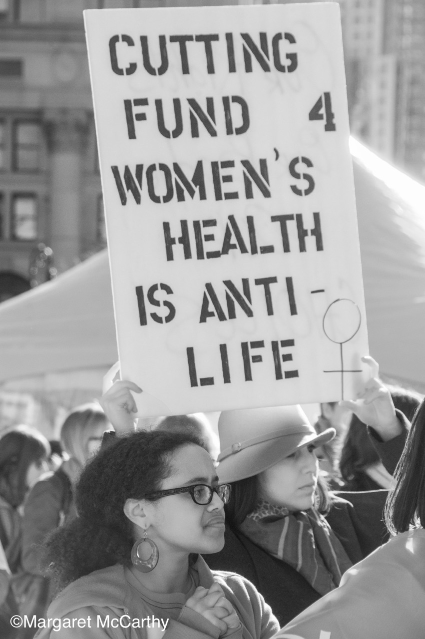 Rally for Women's Health to Save Planed Parenthood