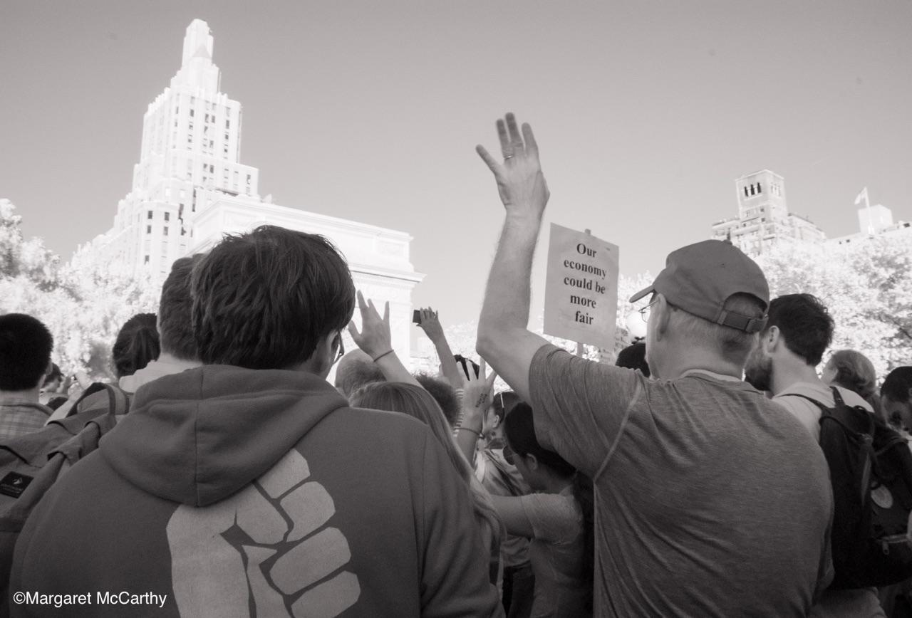 Occupy Wall Street, Washington Square Park, New York City, 10-08-2011