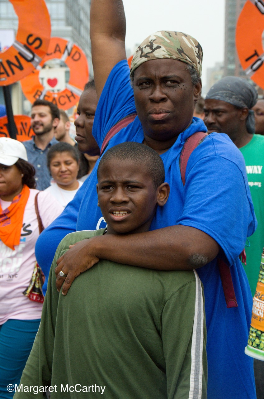 Peoples Climate March, NYC, 9/21/2014