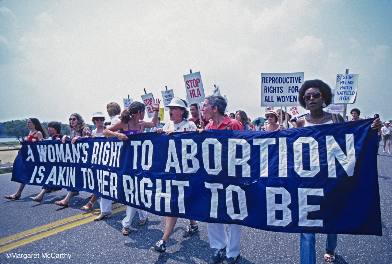 Pro Choice March & Rally for Abortion Rights, Cherry Hill, NJ 1982