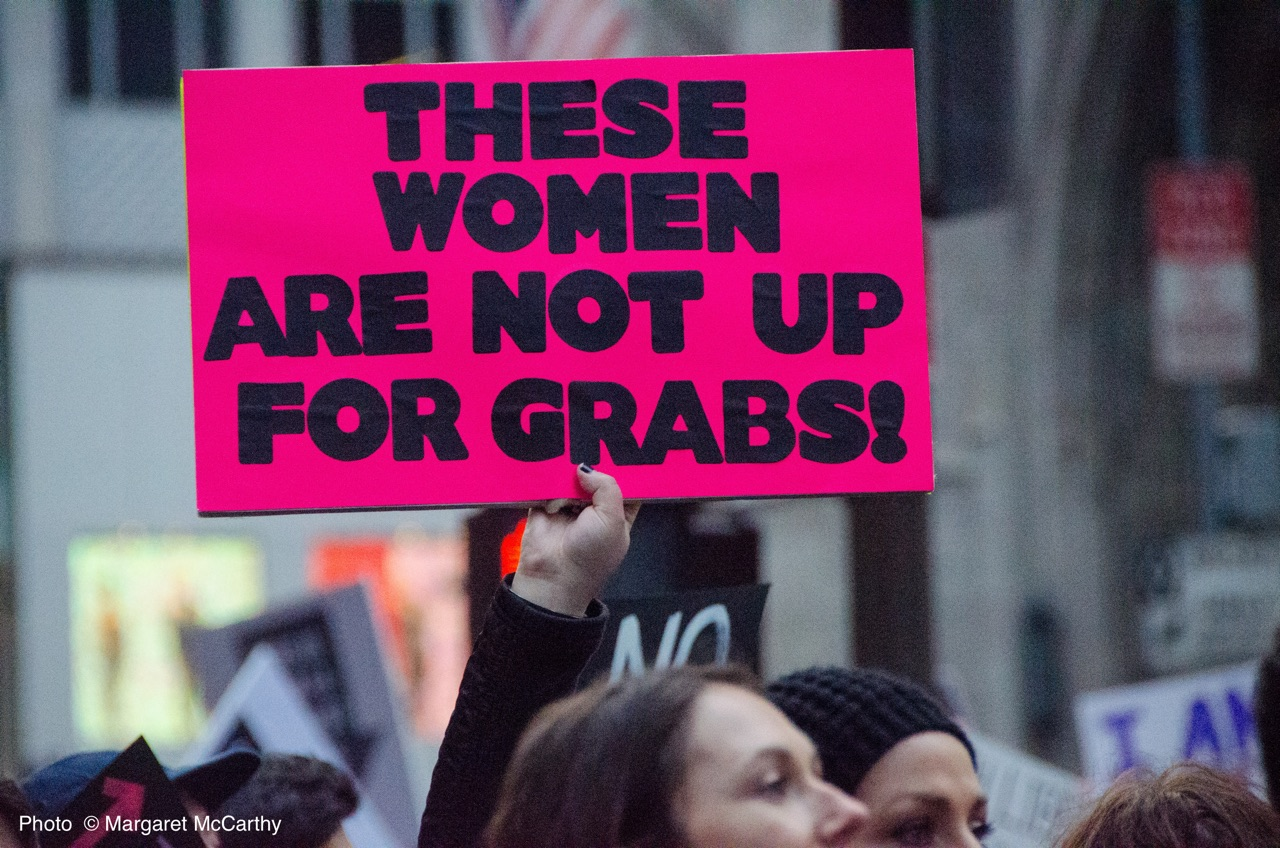 Women's March, NYC, 1-21-2017