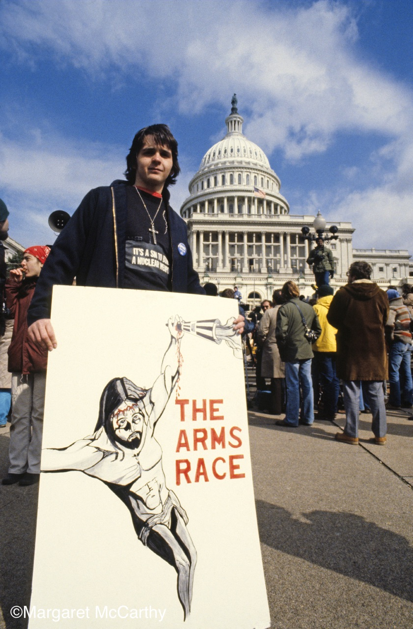 The Arms Race,  National Mobilization Against The Draft, Washington, D.C. 03/22/80