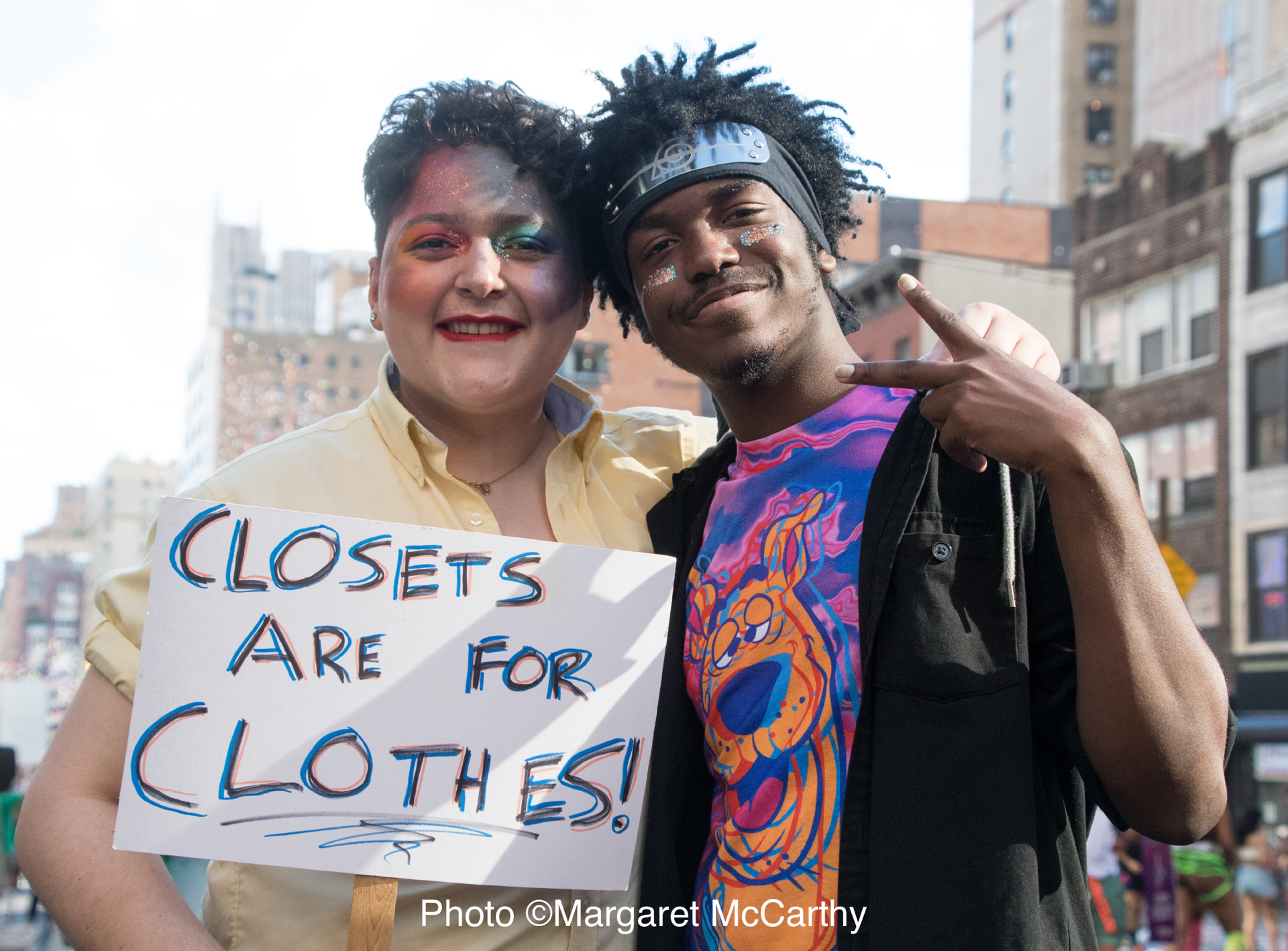 WORLD PRIDE MARCH, NYC, NY; 6-30-2019; 50th Anniversary of Stone